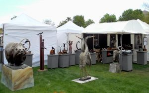 Chavez Bronzeworks Booth at La Quinta, March 2013