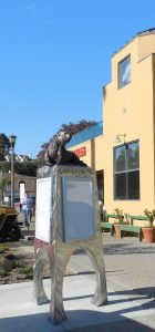 See Otter Kiosk: Capitola, California installation by Kim Chavez